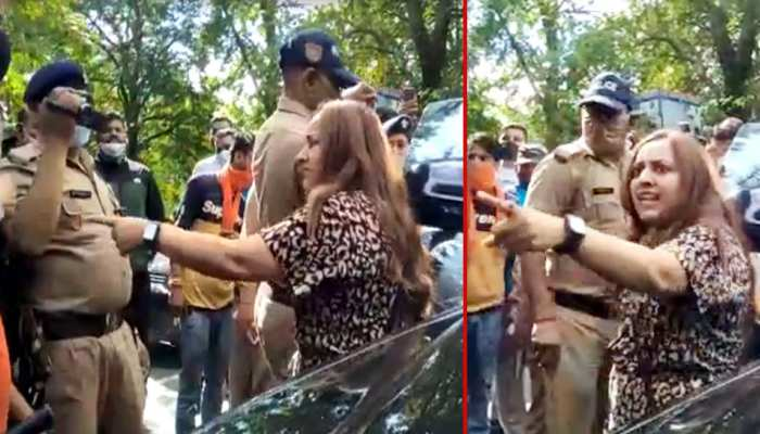 Tourists tried to scuffled with Woman SI in Nainital over black film issue, Police seized Rs 6 crore car and filed case