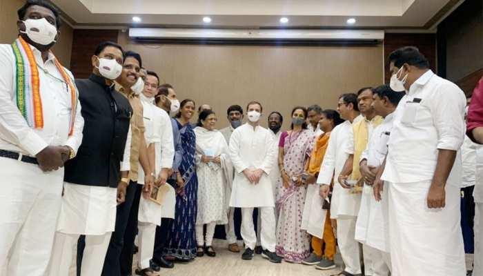 राहुल गांधी ने विपक्षी नेताओं को नाश्ते पर बुलाया, 14 पार्टियों ने लिया हिस्सा, इन 2 ने बनाई दूरी