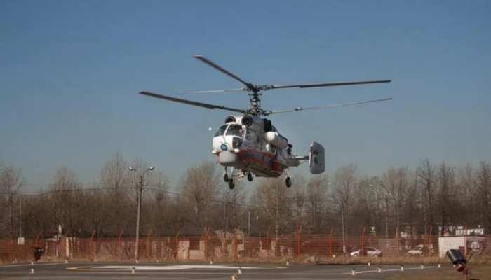 Jammu-Kashmir के कठुआ में क्रैश हुआ हेलिकॉप्टर, रंजीत सागर डैम में गिरा