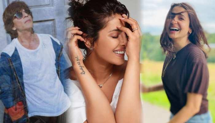 Priyanka Chopra to Anushka Sharma and shah rukh khan school days fun photos