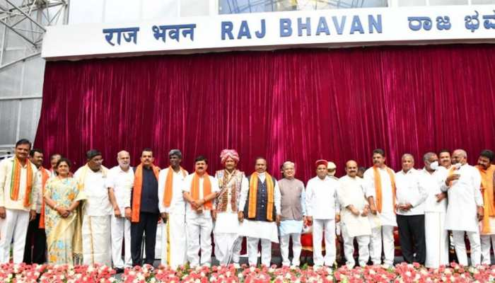 Karnataka Cabinet में जगह न मिलने से कई BJP नेता नाराज, समर्थकों ने किया प्रदर्शन