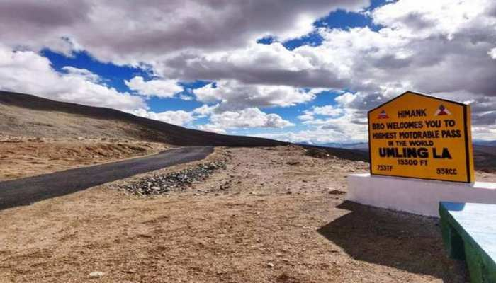 Bro constructed Highest Motorable Road In The World in eastern ladakh see images