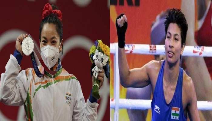 Tokyo Olympics: ओलंपिक में छाए पूर्वोत्तर के खिलाड़ी, सरकार ने बरसाया इनाम