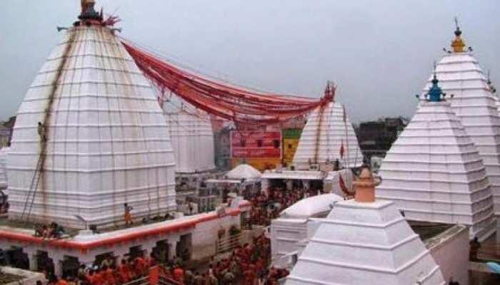 देवघर के बाबाधाम मंदिर में प्रवेश वर्जित, सोमवार से पहले अलर्ट मोड में प्रशासन