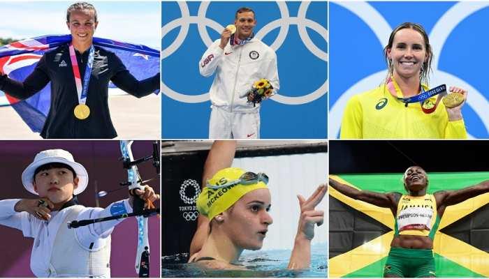 इन खिलाड़ियों का रहा टोक्यो ओलंपिक में दबदबा, अमेरिकी ने जीते 5 गोल्ड, कंगारू ने जड़ा पदकों का सत्ता