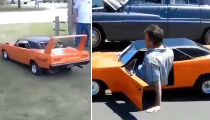 Video: ड्राइवर की होशियारी के आगे फेल हुए इंजीनियर्स, बैठने की जगह नहीं फिर भी चलाई कार