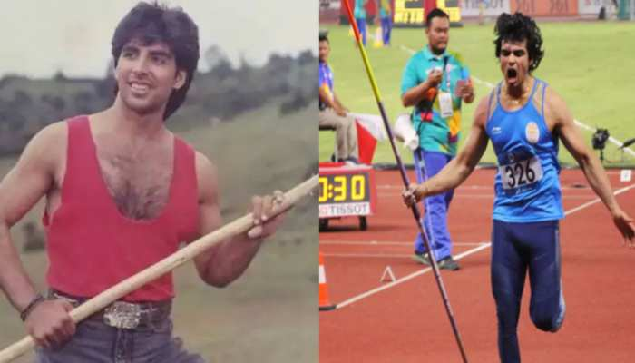 अक्षय कुमार बनेंगे नीरज चोपड़ा की बायोपिक के हीरो? सोशल मीडिया पर फैंस ने लिए मजे