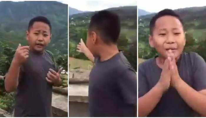 Viral Video: 7 साल के बच्चे ने की गजब रिपोर्टिंग, देखकर मुख्यमंत्री ने खूब की तारीफ