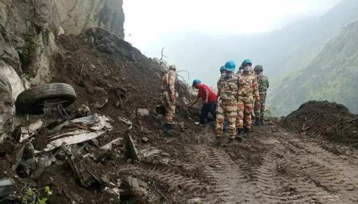 Kinnaur Landslide: ୧୪ ଜୀବିତ ଲୋକ ଓ ୧୦ ଶବ ଉଦ୍ଧାର
