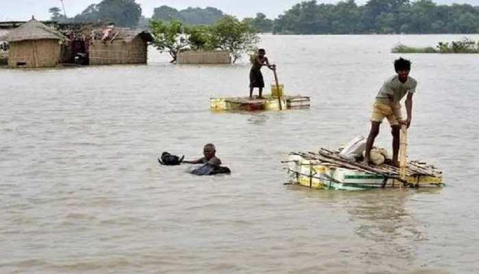 बिहार: खतरे के निशान से ऊपर बह रही गंगा, पटना शहर पर मंडराया बाढ़ का खतरा
