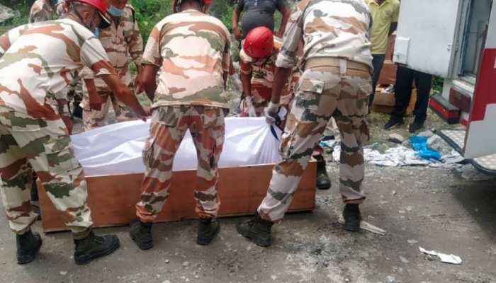किन्नौर भूस्खलन : बचाव अभियान के चौथे दिन 6 शव मिले, अब तक 23 की मौत