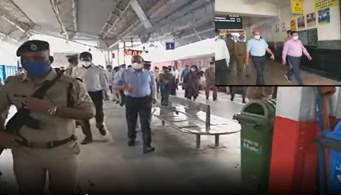 राष्ट्रपति के आगमन से पहले, जीएम नार्दन रेलवे ने किया अयोध्या रेलवे स्टेशन का निरीक्षण