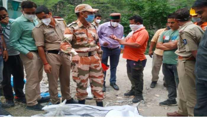 किन्नौर भूस्खलन : मलबे से निकाले गए सभी शव, 28 लोगों ने गंवाई जान, दो दिन और चलेगा सर्च अभियान