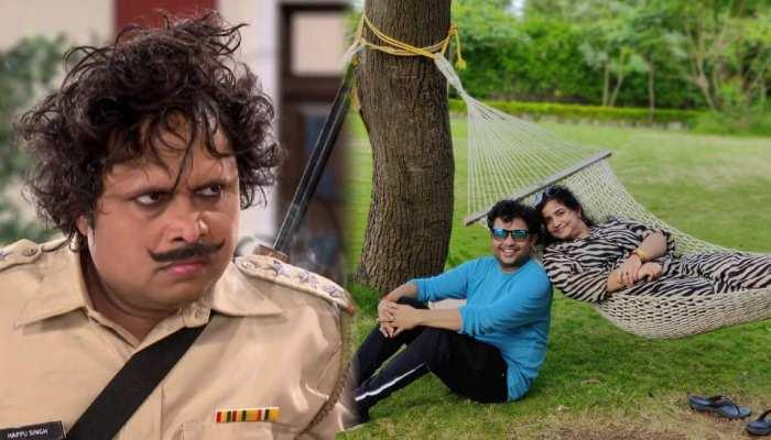Bhabiji Ghar Par Hai fame happu singh real life partner sapna looks beautifull