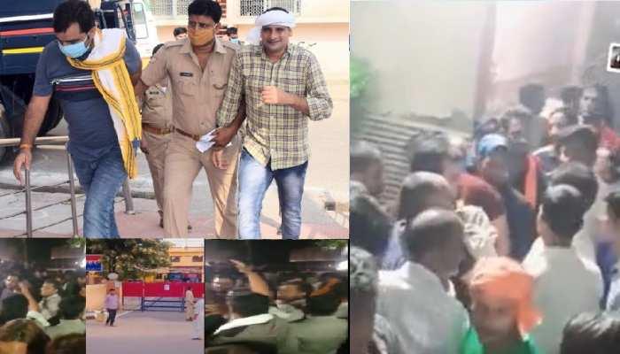 भाजपा युवामोर्चा के जिला अध्यक्ष दीपक दुल्हेरा को जमानत, समर्थकों ने किया स्वागत, इस आरोप में गए थे जेल