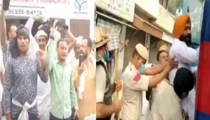 अन्नपूर्णा उत्सव : करनाल में किसानों ने किया भाजपा नेताओं  का विरोध, इस बात पर थे नाराज
