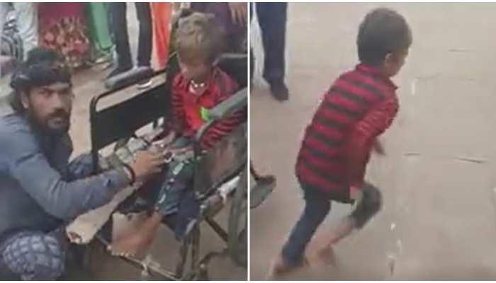 भावनाओं से खिलवाड़: बच्चे के पैर पर पट्टी बांधकर भीख मांग रहे थे दंपति, रोका तो हुआ चौंकाने वाला खुलासा