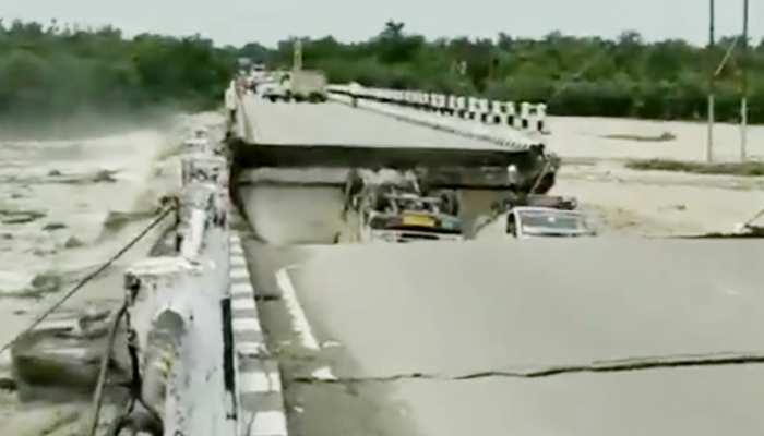 उत्तराखंड में बड़ा हादसा: देहरादून-ऋषिकेष को जोड़ने वाला पुल टूटा, कई गाड़ियां नीचे गिरीं
