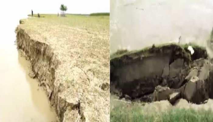 साहिबगंज में गंगा की लहरों का थमा 'तांडव', तो तटों का हुआ बुरा हाल, किनारे पर बढ़ा कटाव