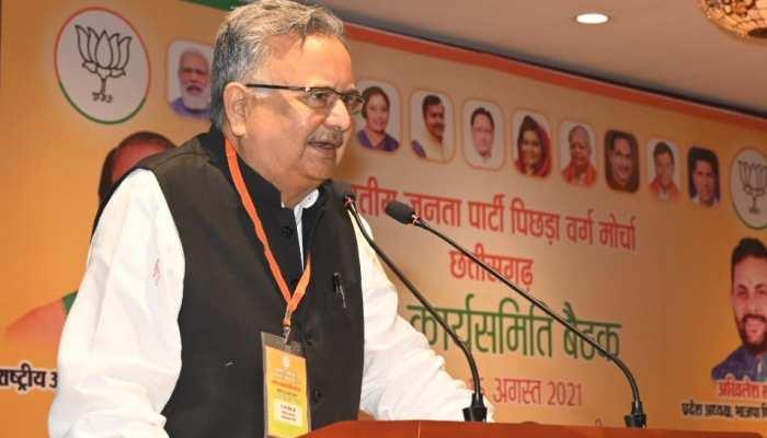 BJP ने छत्तीसगढ़ में शुरू की मिशन-2023 की तैयारी, चिंतन शिविर में बोले रमन सिंह-बारिश से मिले शुभ संकेत
