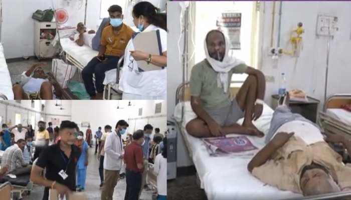 कानपुर में तेजी से बढ़ रहा वायरल फीवर का संक्रमण, एक बेड पर करना पड़ रहा 2 मरीजों का इलाज