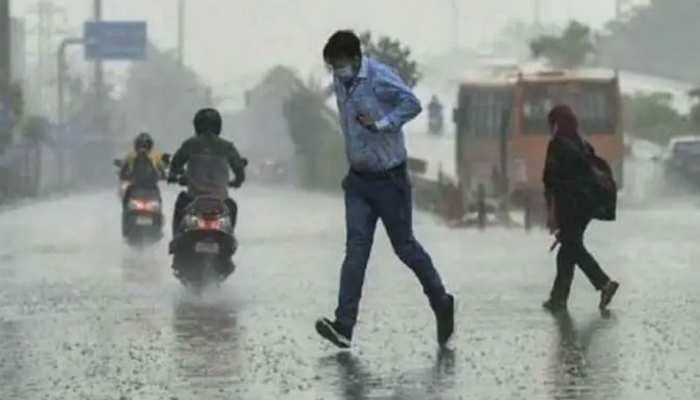 MP Rain Alert:इंदौर में बारिश का दौर जारी, इन जिलों में भारी बारिश के आसार