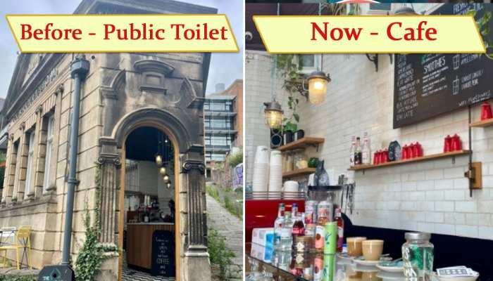कभी लोग जाते थे यहां Toilet, आज बना डाला इतना सुंदर Cafe, कॉफी पीने के लिए उमड़ती है भीड़- देखें