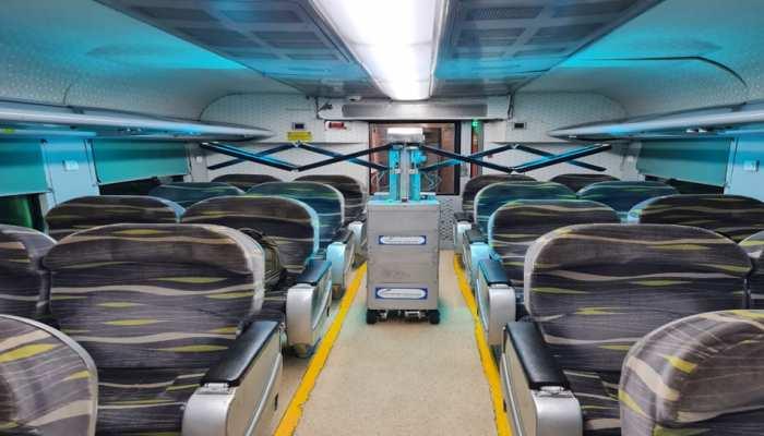 उत्तर रेलवे की यात्रियों की सुरक्षा के लिए पहल, ट्रेनों को कीटाणु रहित रखने के लिए यूवीसी रोबोट तकनीक का इस्तेमाल शुरू