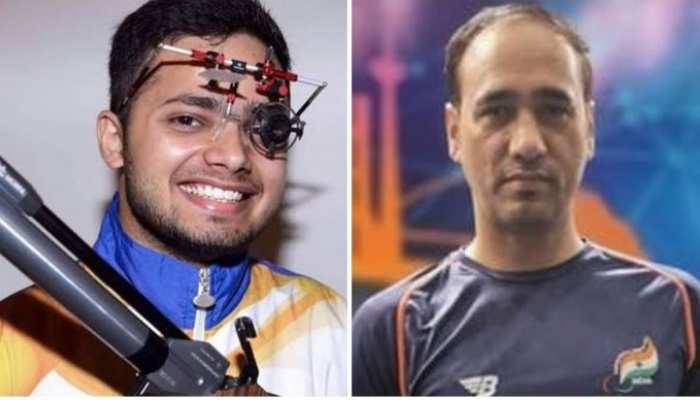 Tokyo Paralympic 2020: निशानेबाज मनीष नरवाल ने लगाया स्वर्ण पर निशाना, अडाना को रजत