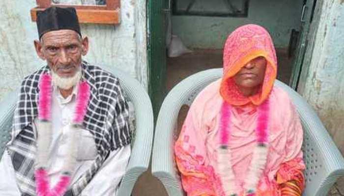 रामपुर: 73 वर्षीय दूल्हे ने 70 साल की दुल्हन से किया निकाह, ऐसी है इनकी कहानी