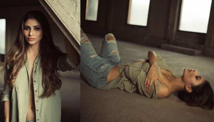 Mouni Roy Open Shirt Bold Photoshoot Gone Viral On Internet