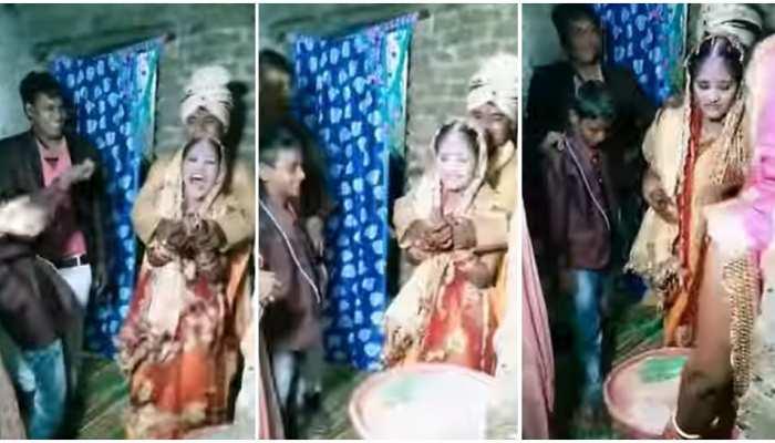 Wedding Video: शादी के बाद रस्म निभा रहे थे दूल्हा-दुल्हन, अचानक चढ़ गई हाथ की नस