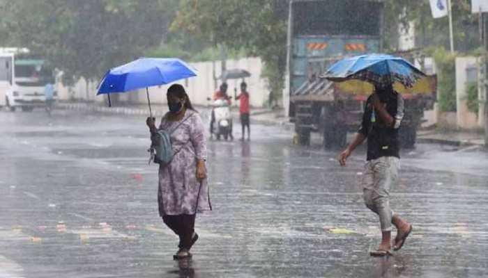 MP Weather Update: गरज-चमक के साथ भारी बारिश के आसार, मौसम विभाग का इन जिलों में अलर्ट