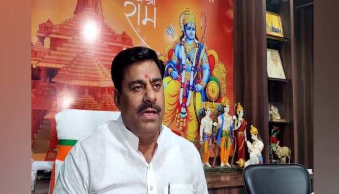 BJP MLA का कांग्रेस-आप पर तंज, मथुरा का मुद्दा उठेगा, तब देखेंगे कौन-कौन जाता है वहां?