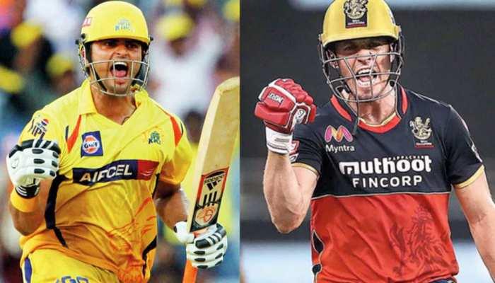 Suresh Raina and Ab de Villiers enter 100 crore club with ms dhoni rohit sharma virat kohli IPL 2021