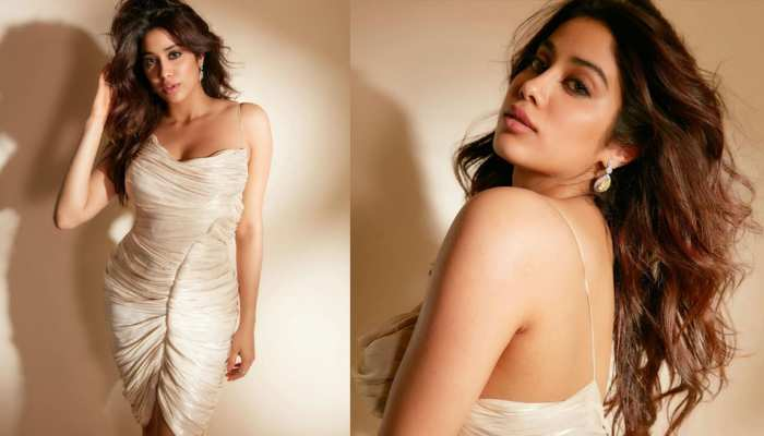 Janhvi Kapoor did a bold shoot in a bodycon dress, take a look at the photos