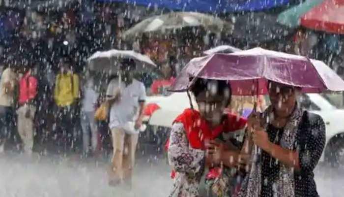 MP Weather Update:मध्य प्रदेश में रुक-रुककर हो रही बारिश, इस तारीख तक जारी रहेगी बरसात