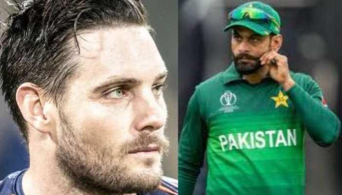 न्यूजीलैंड का मजाक उड़ाने वाले पाकिस्तानी बल्लेबाज को किवी गेंदबाज की जवाबी बाउंसर