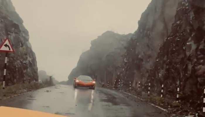 अरुणाचल प्रदेश की सड़कों पर दौड़ीं फरारी और पोर्शे, CM खांडू ने शेयर किया वीडियो
