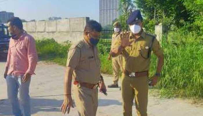गाजियाबाद का नामी बदमाश अंकित नेगी मुठभेड़ के बाद गिरफ्तार, एक दर्जन से अधिक मुकदमे हैं दर्ज
