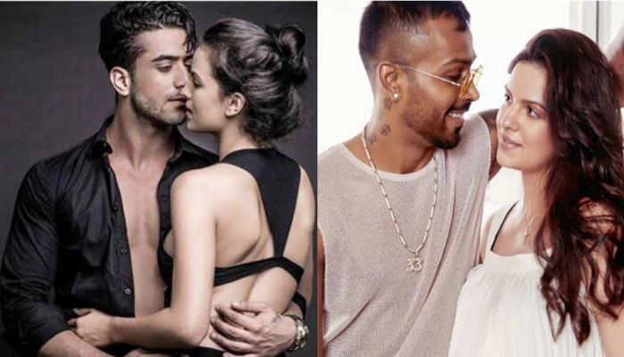 Hardik Pandya wife Natasa Stankovic hot and sexy pictures with ex boyfriend Aly Goni is breaking the internet see viral pictures