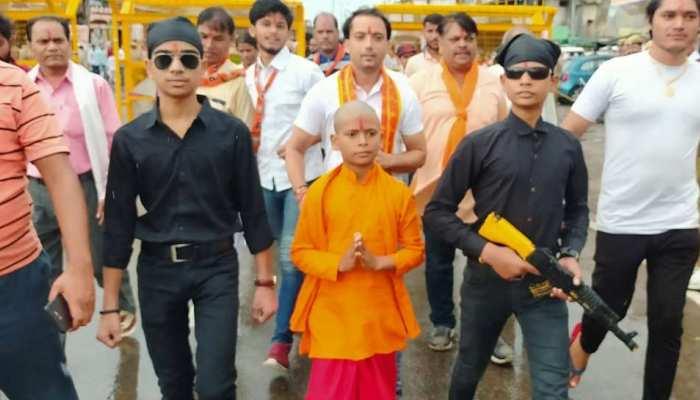 'Junior CM Yogi' seen on Roads during the Greater Noida visit of UP CM Yogi Adityanath