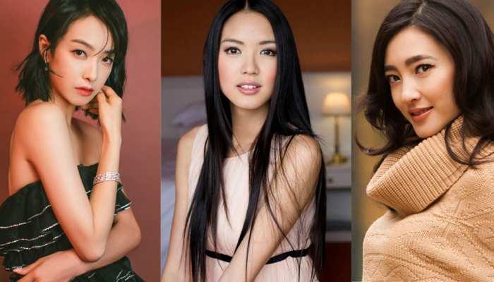 Top 5 Chinese super models, Fan BingBing, Zhang Zilin, Li Bingbing, Wang Likun, Victoria Song