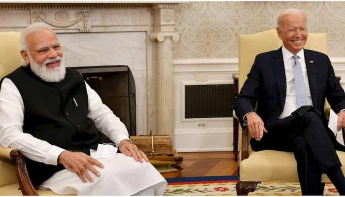 'गंभीर' मीटिंग में PM Modi ने किया Biden के रिश्तेदारों का जिक्र और गूंज उठे ठहाके