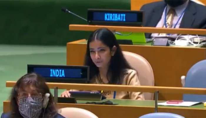 UNGA में इमरान खान ने फिर अलापा कश्मीर राग, भारत ने सुनाई खरी-खरी, कही ये बातें