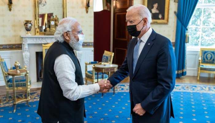 मुश्किल चुनौतियों का सामना करने के लिए प्रतिबद्ध हैं भारत-अमेरिका: बाइडन