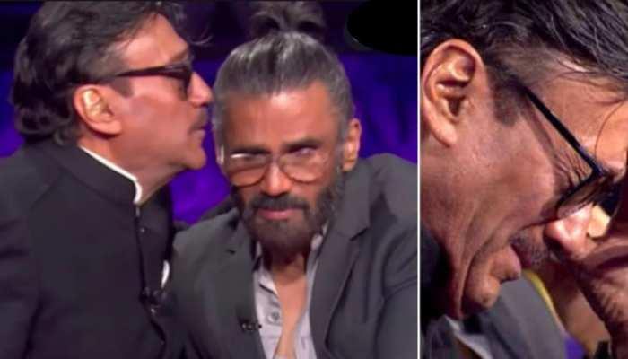 केबीसी के सेट पर रोने लगे Jackie Shroff, कहा- Suniel Shetty ने बीमार पिता के लिए दे दिया था घर
