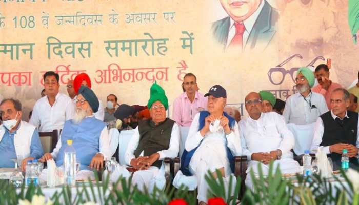 ओपी चौटाला का शक्ति प्रदर्शन, बोले- क्षेत्रीय पार्टी को मौका दें, केंद्र क्या जाने गांव की बात