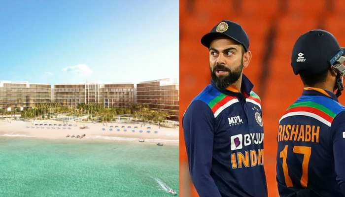 Team India likely to stay in luxurious Palm Hotel in Dubai UAE during ICC T20 World Cup 2021, See Photos