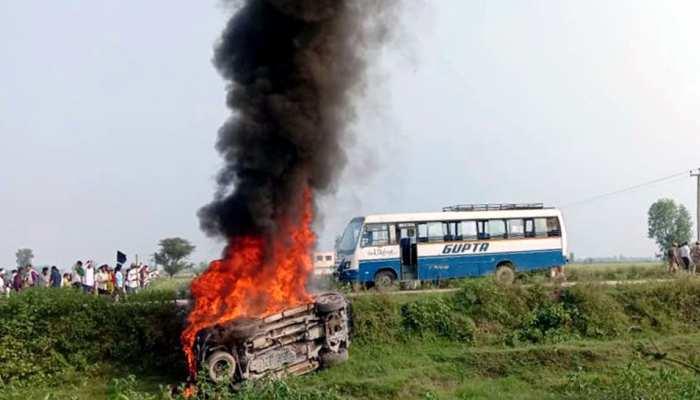 लखीमपुर खीरी हिंसा में 8 लोगों की मौत, सीएम योगी बोले- दोषियों को करेंगे बेनकाब